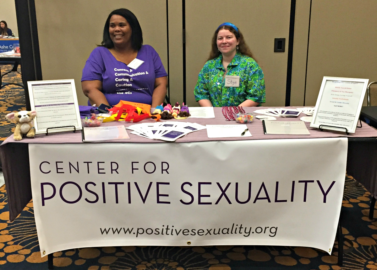 Center for Positive Sexuality at UCLA's #Sextravaganza for the Third Year in a Row