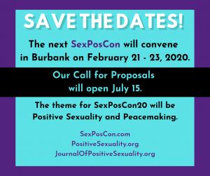 SexPosCon 20 coming Feb 21-23; CFP opens July 15