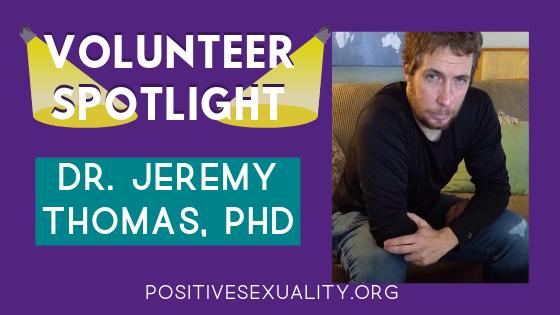 Volunteer Spotlight: Dr. Jeremy Thomas
