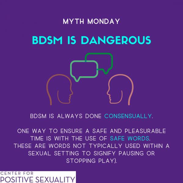 #MythMonday: Consent in BDSM