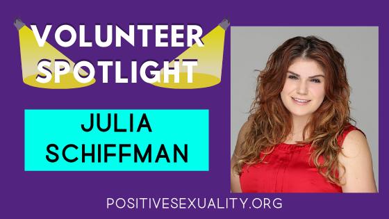 Volunteer Spotlight: Meet Julia Schiffman!