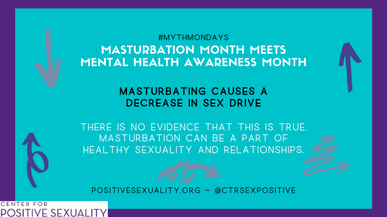 #MythMonday: Masturbation Month Meets Mental Health Awareness Month