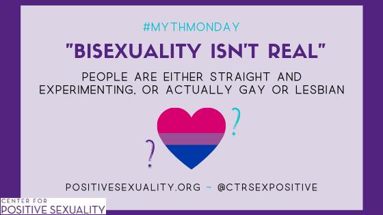 #MythMonday: Bisexuality Isn't Real