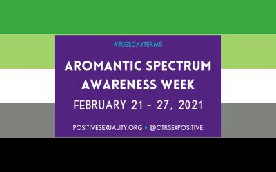 #TuesdayTerms: Aromantic Spectrum Awareness Week