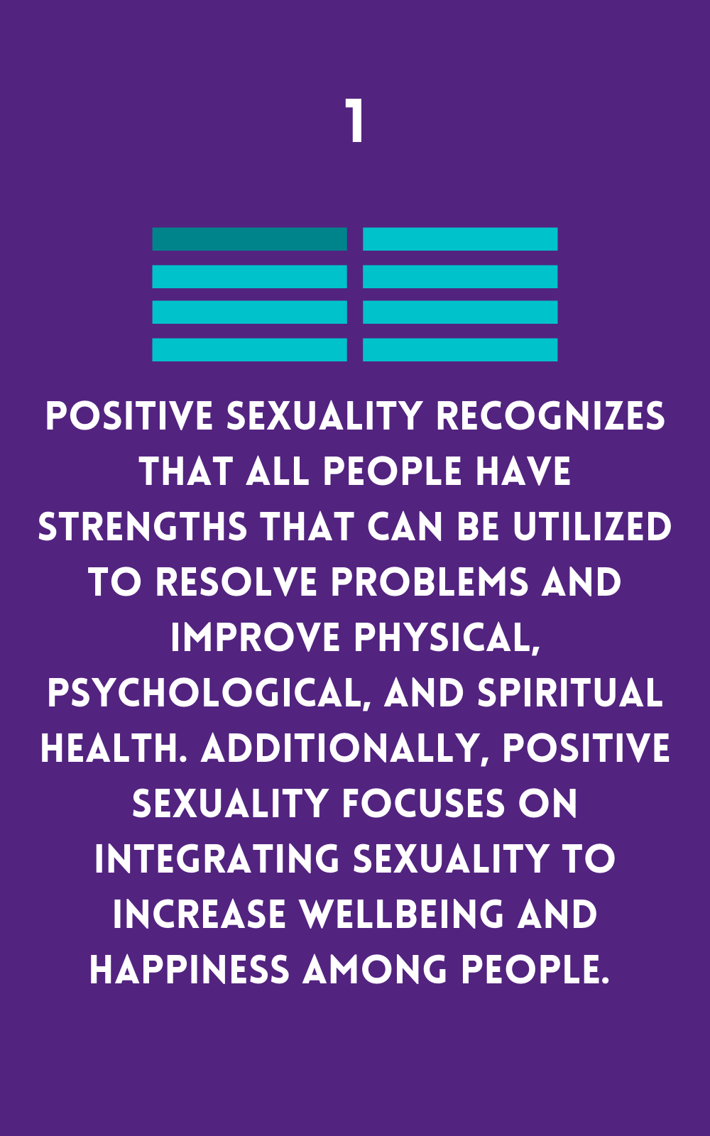 All people have strengths and wellbeing and happiness should be supported
