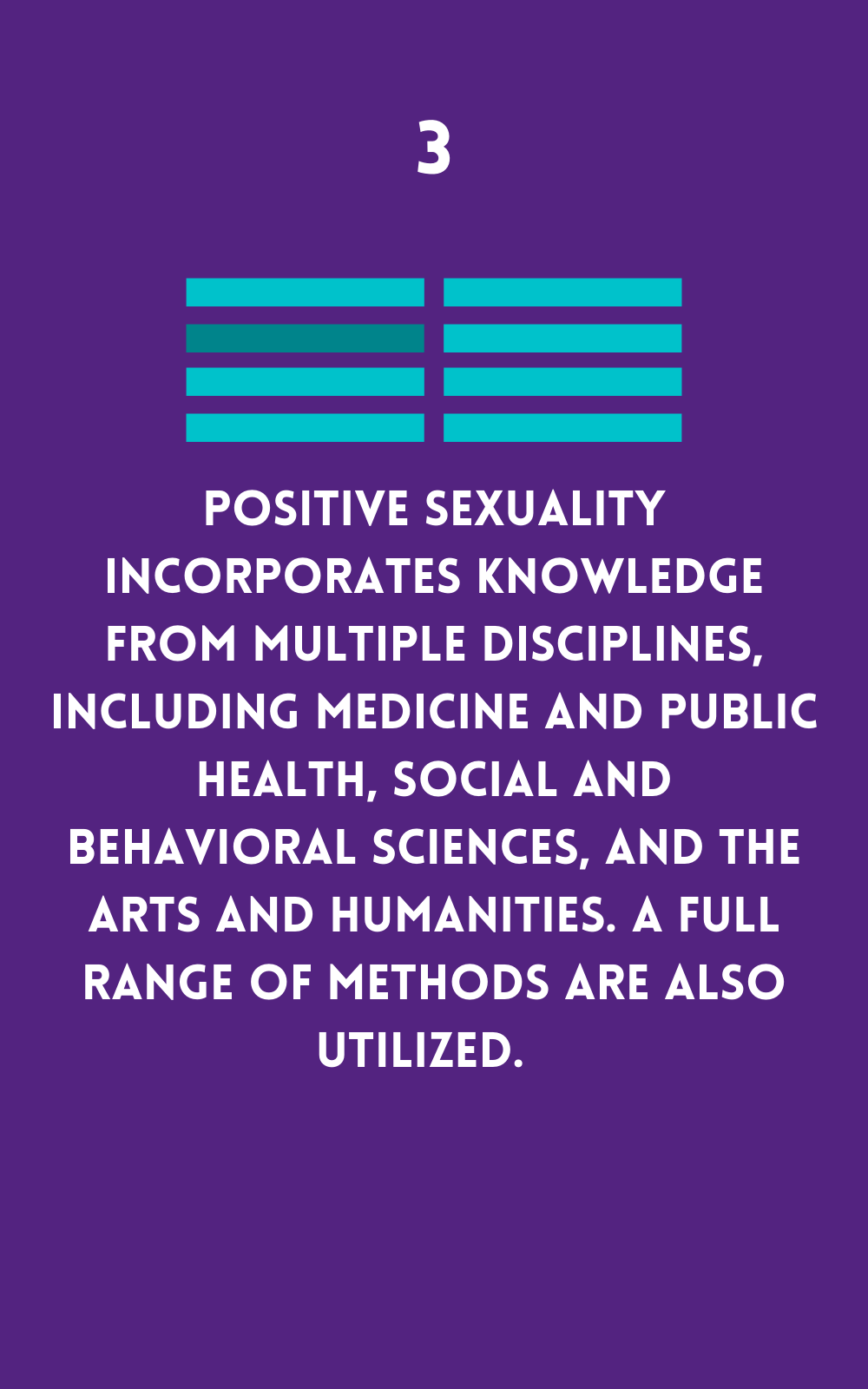Positive sexuality supports knowledge from many sources