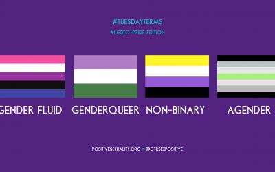 #TuesdayTerms: Gender Fluid, Genderqueer, Non-Binary, Agender