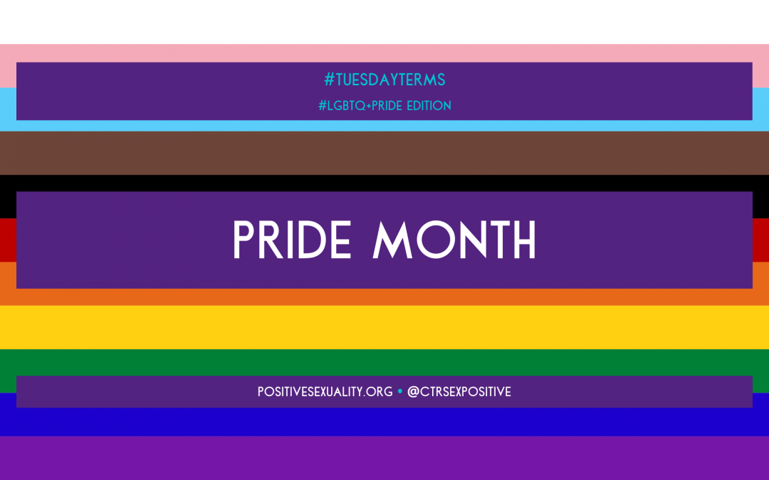 Tuesday Terms Pride Month